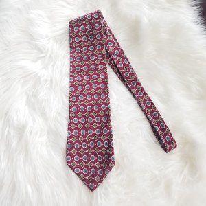 Chaps Ralph Lauren   Red Italian Silk Neck Tie